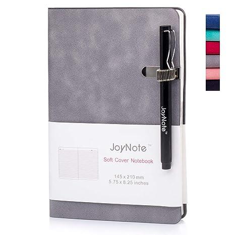Amazon.com: JoyNote - Cuaderno clásico A5 con portalápices ...