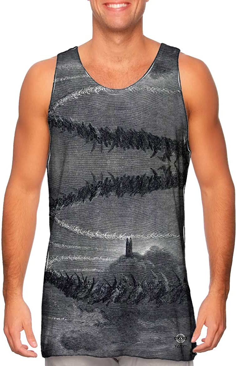 The Divine Come.-Tshirt Yizzam Gustave Dore Mens Tank Top 2522
