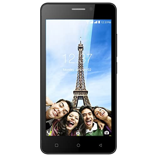 Intex Aqua Supreme+ (Black, 2GB RAM)