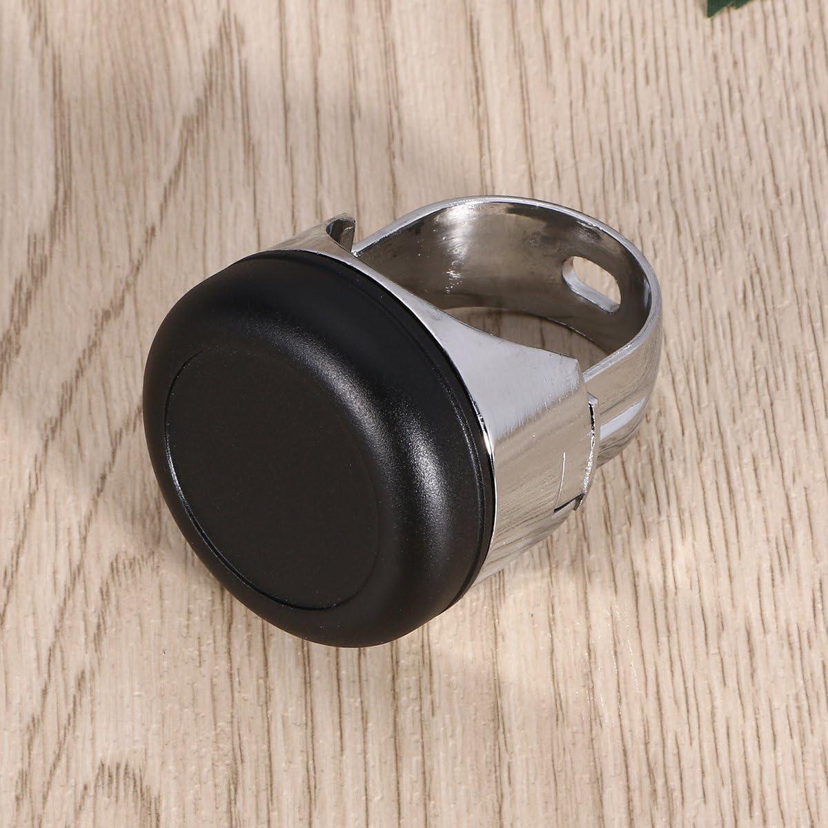Dull Noir WINOMO amplificateur de voiture de volant Spinner Aid accessoire de boule de poign/ée de commande auxiliaire