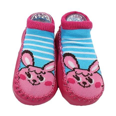 Yosemite diseño de animales de dibujos animados bebé calcetines zapatos interior Suelo Antideslizante Calcetines Regalo,