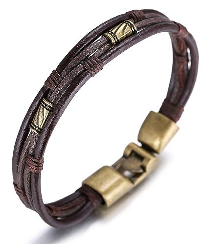Halukakah «Rétro»:Le Bracelet De L'homme En Style Cuir Et ...