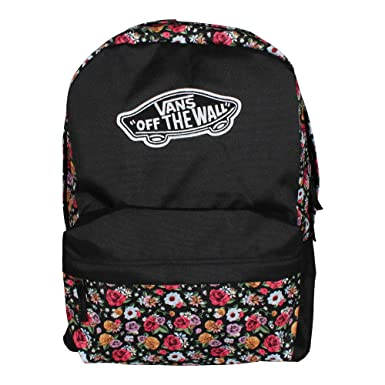 Amazon.com  VANS Realm Backpack Mixed Floral Schoolbag VN0A3UI6YFD ...