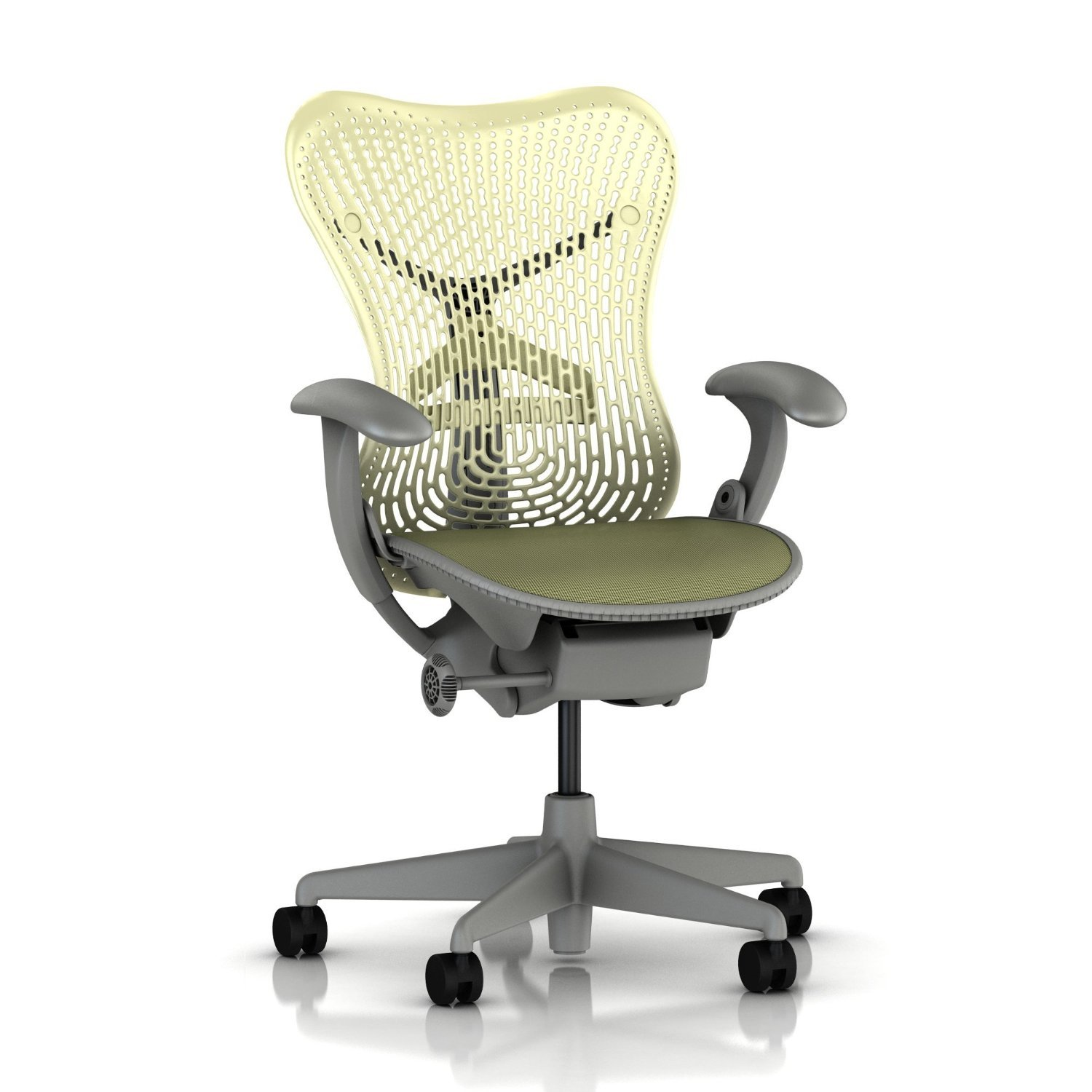 Amazon.com: Herman Miller Mirra Chair Basic Home Office Desk Task ...