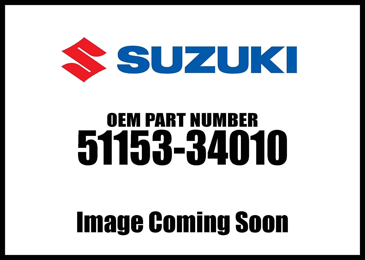 Suzuki Oil Seal Fr For 51153-34010 New Oem