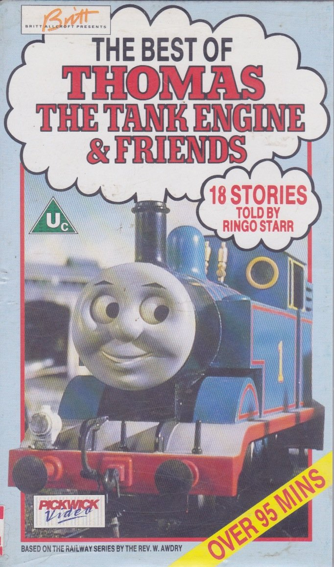 The Best Of Thomas Tank Engine Friends VHS Ringo Starr Amazoncouk Video