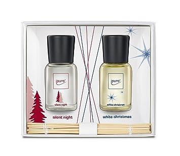 Elegant Ipuro Silent Night + White Christmas Set Of Room Scent 2x50ml One Size Amazing Ideas