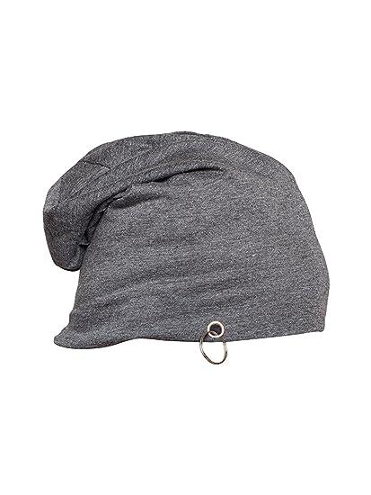 3c8420daf Buy Gajraj Cotton Dark Grey Slouchy Beanie for Summer, Winter ...