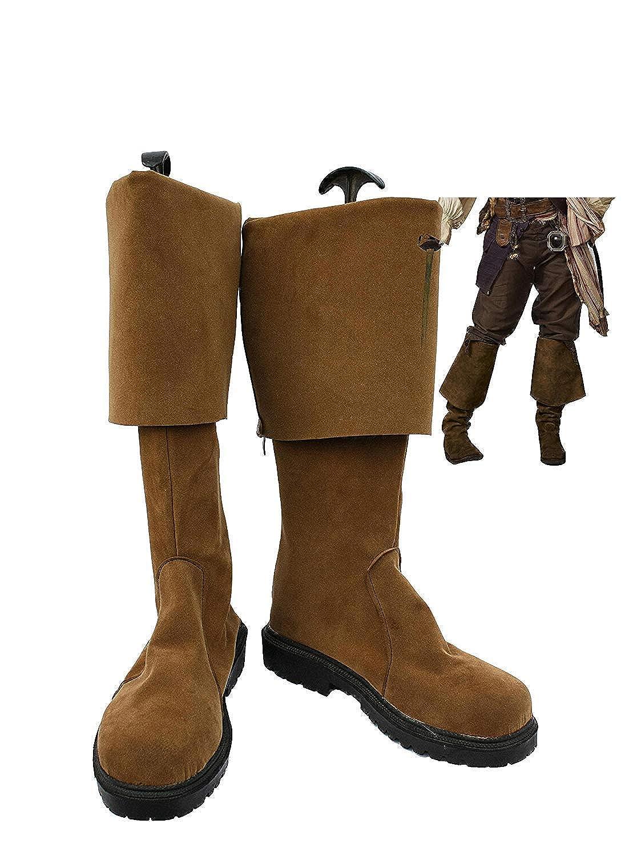 Snuter Cosplay Movie Zapatos Botas Pirata Jack Marrones ...