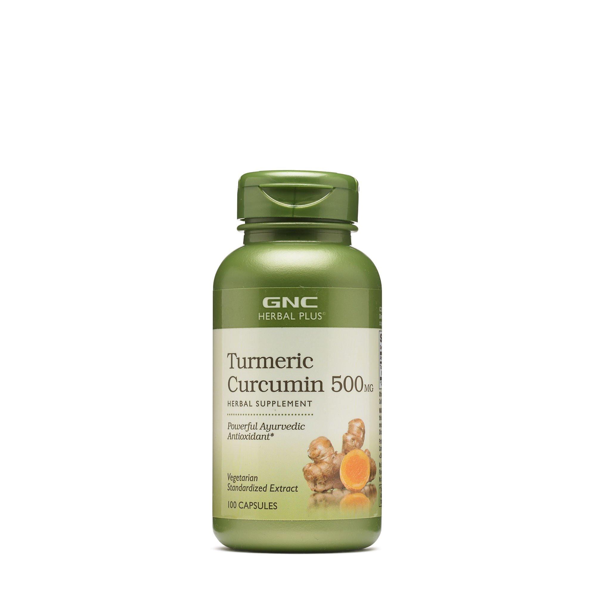 GNC Herbal Plus - Turmeric Curcumin 500mg 100 capsules