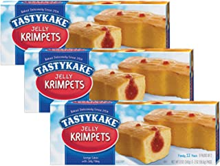 product image for Tastykake Butterscotch or Jelly Krimpets Family Size 12 Pack- A Philadelphia Baking Institution (Jelly Krimpets, 3 Pack)