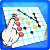 4 pic pipe - Risti Link Dots And Lines Free puzzle