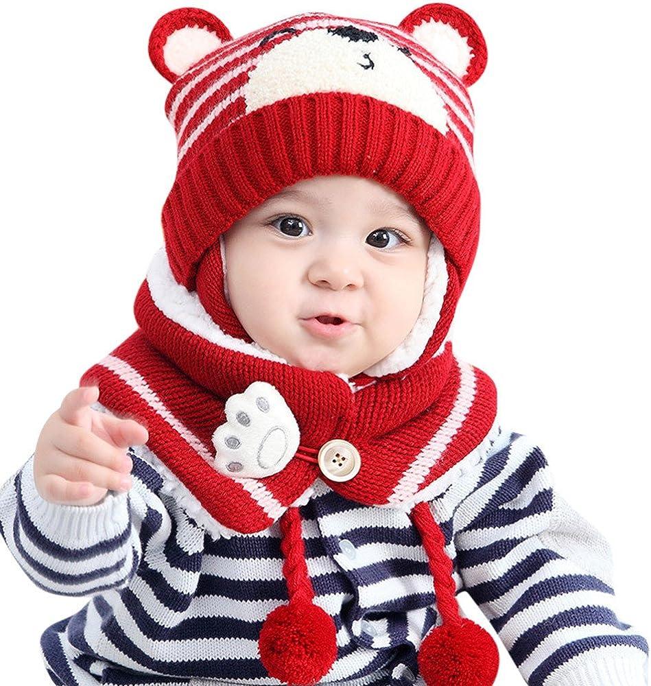 VENMO Baby Kind warme Baumwollschals Jungen M/ädchen Schal Winter Halstuch f/ür Unisex Kleinkind S/äuglings Schlauchschal Kinderschal Loopschal 1-3Y