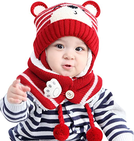 My First Christmas Baby Beanie Hat//Cap 0-12m Boys Girls Xmas Gift Acce Newborn