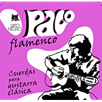 Gato Negro - Juego de cuerdas guitarra flamenca paco