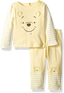 Disney Baby Boys Winnie The Pooh 2 Piece Top Big Face Set
