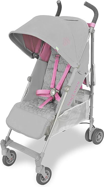 Oferta amazon: Maclaren Quest Silla de paseo - ligero, para recién nacidos hasta los 25kg, Asiento multiposición, suspensión en las 4 ruedas, Capota extensible con UPF 50+