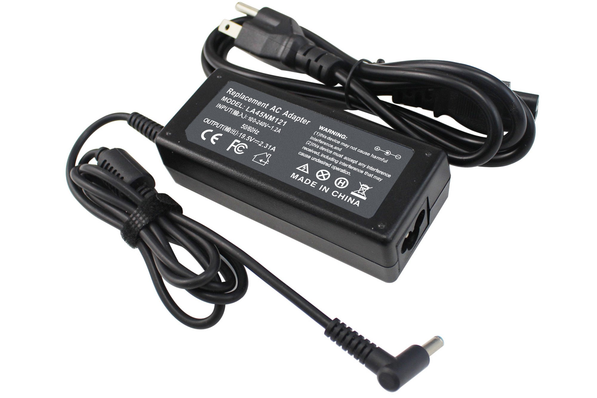 NOCCI 19.5V 2.31A 45W 4.5x3.0mm AC Adapter Laptop Charger Power Cord for HP 719309-001 719309-003 721092-001 741727-001 740015-001 740015-003 ADP-45WD B; Stream 11 13 14