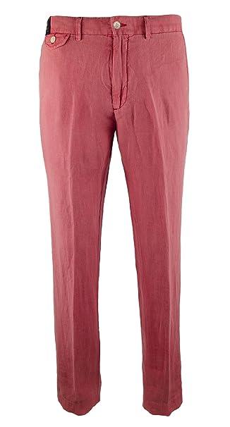 price choose genuine popular brand Men's Straight-Fit Flat-Front Linen Pants at Amazon Men's ...