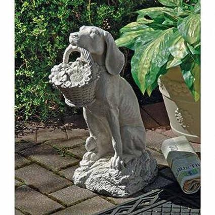 Charmant Welcome Home Dog Garden Statue Yard Art
