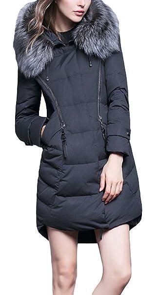 cappotto donna nero lungo senza collo