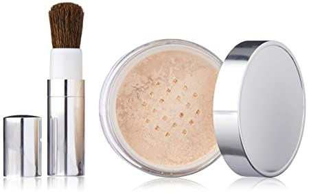 Clinique Blended Face Powder and Brush, Shade 08, 1.2 Ounce