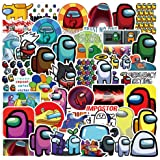 Among Game Stickers 50pcs, Waterproof Cute Sticker Teen Kid for Bottle Laptop, Hot Online Game Special Character The…