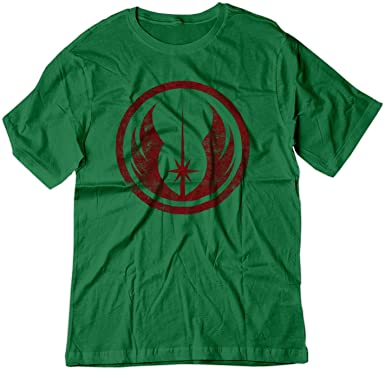52e3904dc Amazon.com: BSW Youth Star Wars Jedi Order Vintage Style Logo Shirt ...