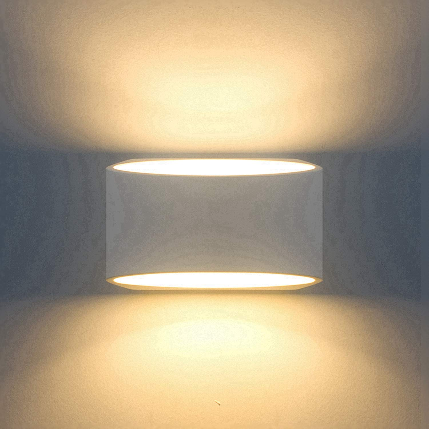 Attractive Modern Wall Sconce Lighting Fixture Lamps 7W Warm White 2700K Up And Down  Indoor Plaster Wall Lamps 100V 240V For Living Room Bedroom Hallway ...