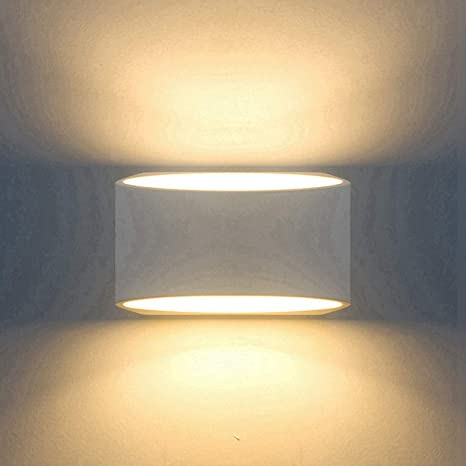 indoor sconce lighting fixtures bedroom modern wall sconce lighting fixture lamps 7w warm white 2700k up and down indoor plaster amazoncom