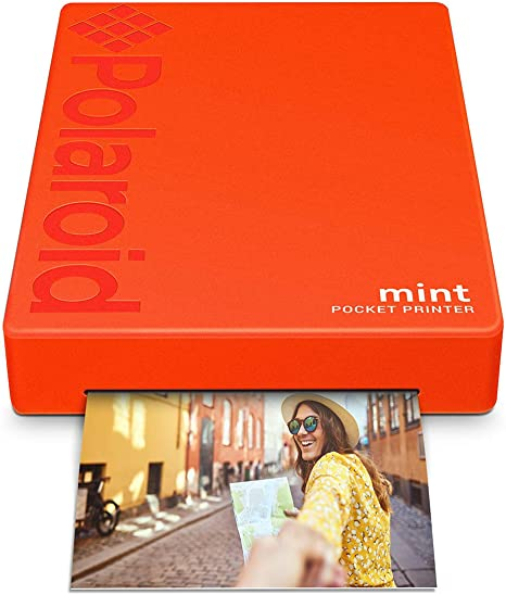 Polaroid Mint Impresora de bolsillo con Tecnología Zink Zero Ink ...