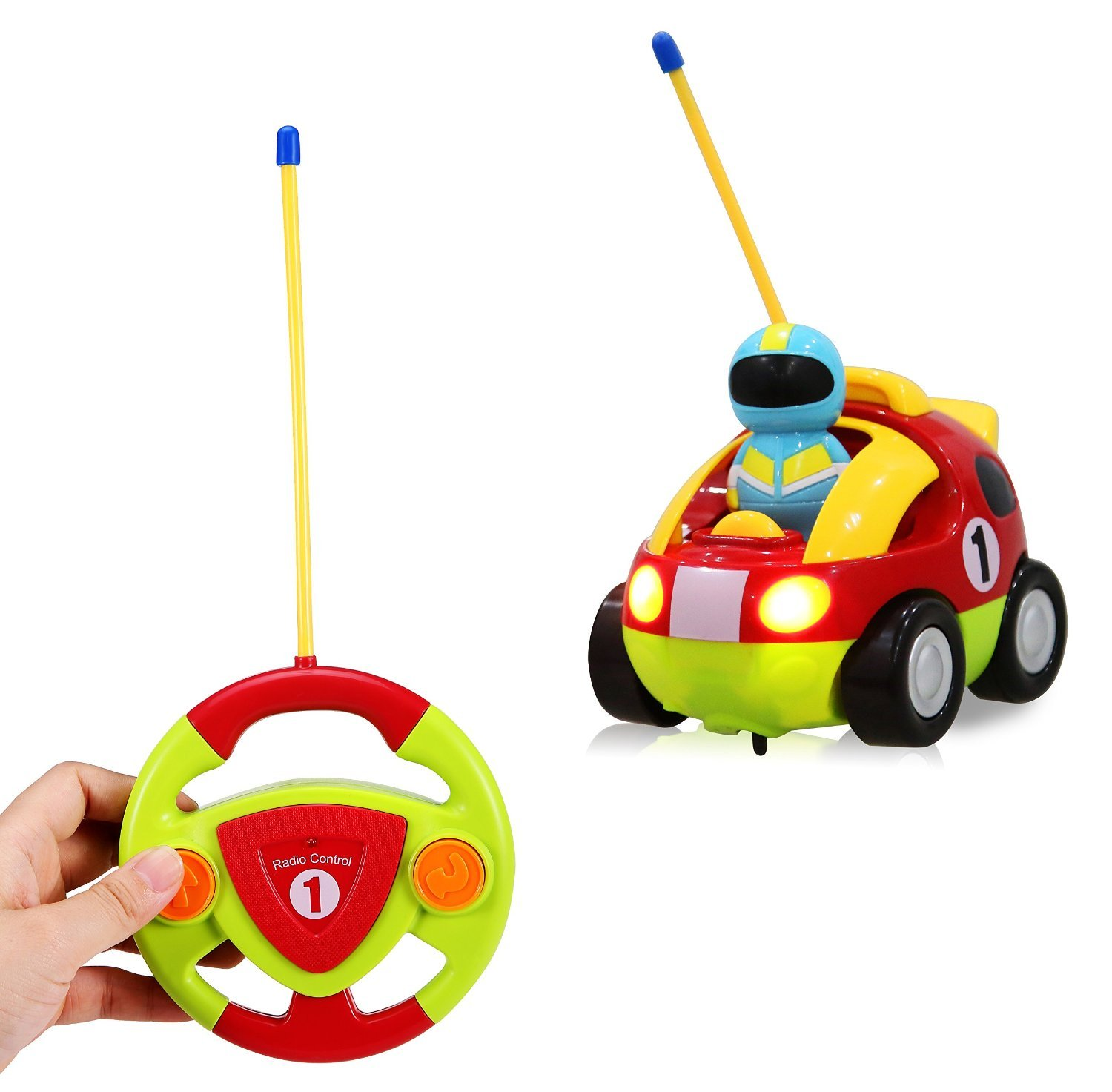 Amazon Cartoon R C Race Car Radio Control Toy for Toddlers by