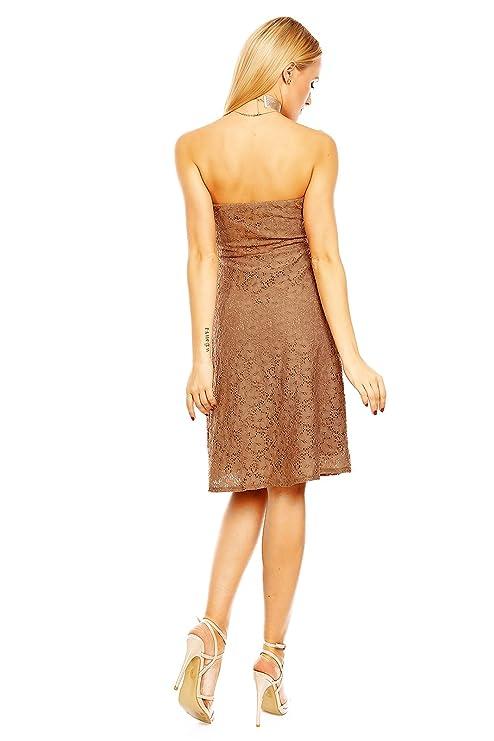 1ac805742aeb Mayaadi Spitzenkleid Ballkleid Abendkleid Partykleid Festkleid  Cocktailkleid Blumenmuster HS-312  Amazon.de  Bekleidung
