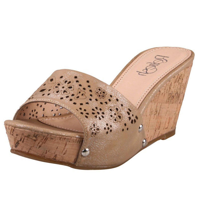 Refresh Women's Lydia-01 Slides Sandals B00HX6YTMO 10 B(M) US|Camel Pu