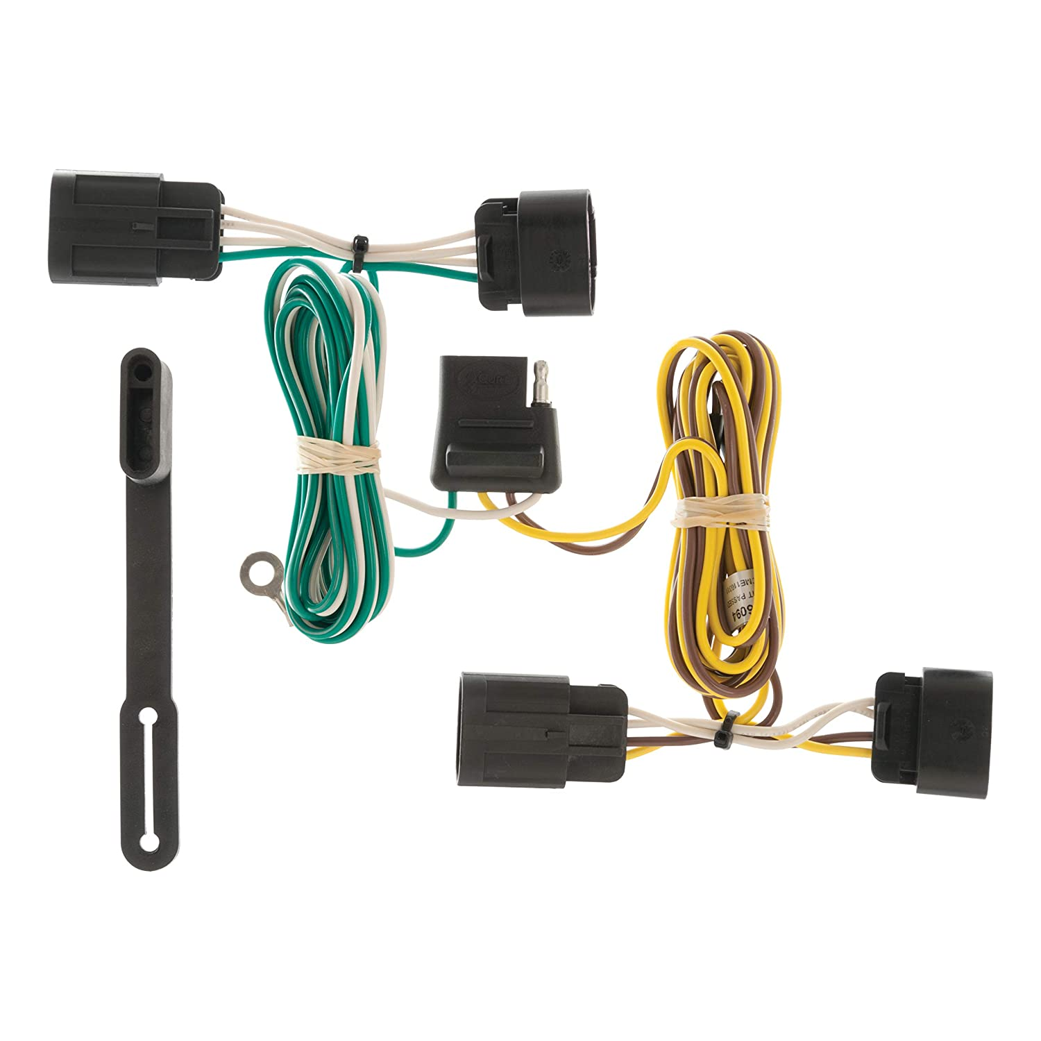 amazon com: curt 56094 vehicle-side custom 4-pin trailer wiring harness for  select chevrolet equinox, gmc terrain: automotive