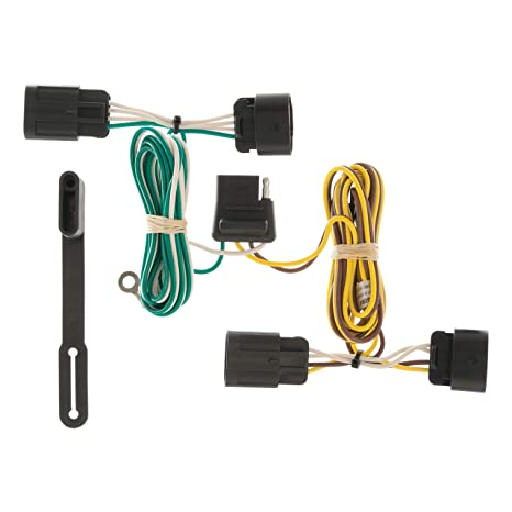 CURT 56094 Vehicle-Side Custom 4-Pin Trailer Wiring Harness for Select on
