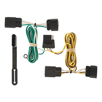 curt 56094 vehicle side custom 4 pin trailer wiring harness for select chevrolet equinox, gmc terrain Trailer Wiring Pin