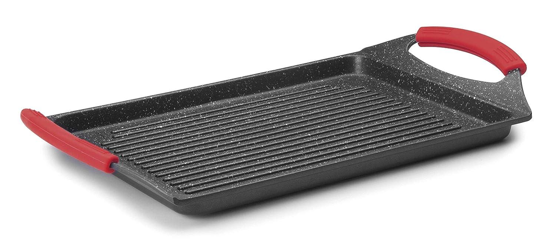 Lacor - 24134 - Plancha Grill Eco Piedra 34x26x6cm - Negro