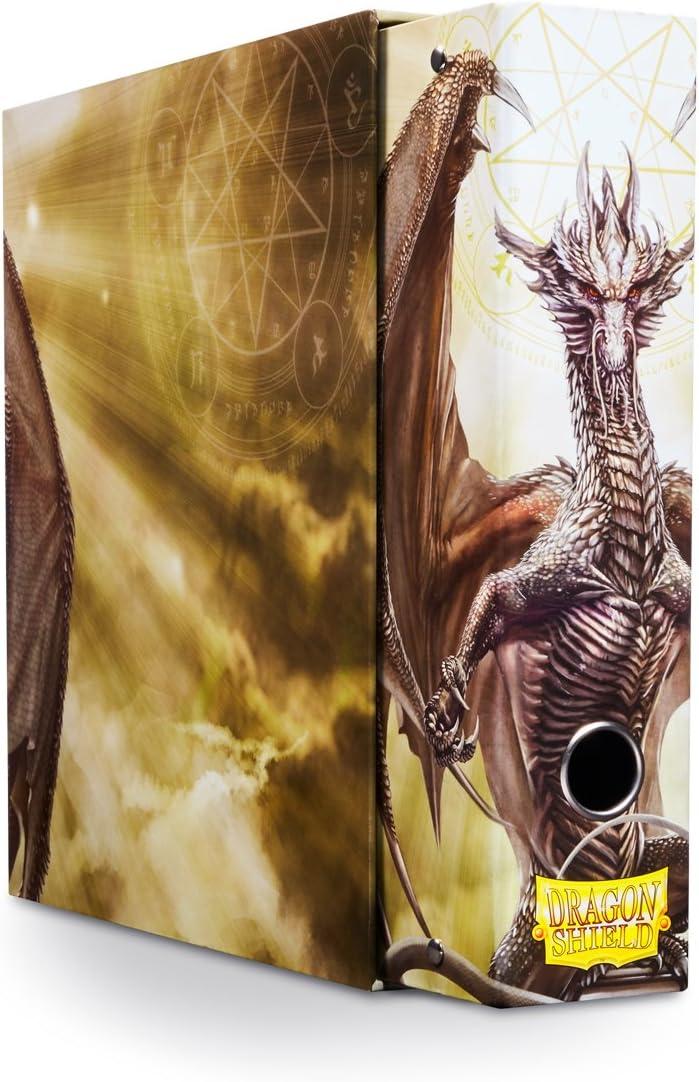White Art Dragon Dragon Shield Slipcase Binder