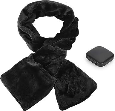 USB Powered Soft Heated Womens Shawl Scarf Winter Electric Warming Heating Neck