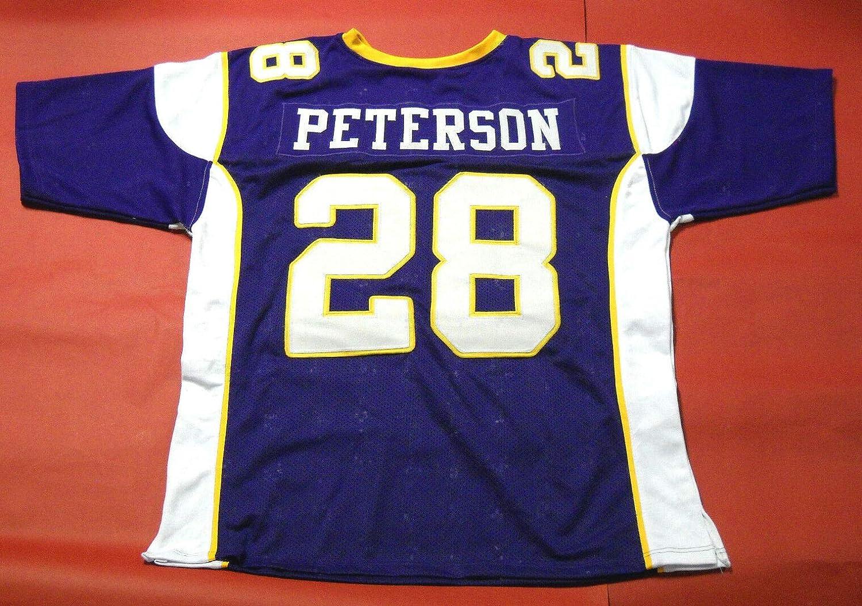 Amazon.com: ADRIAN PETERSON PURPLE MINNESOTA THROWBACK CUSTOM ...
