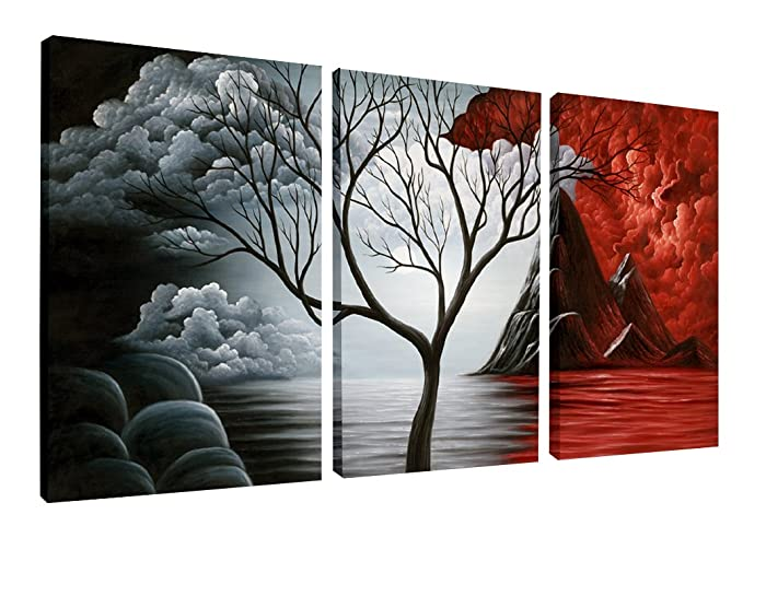Top 9 3 Piece Canvas Abstract Art Wall Decor