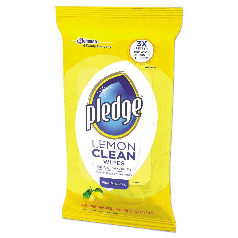 4COU Promesa Limón Aroma Gamuza de toallitas Húmedas, 7 x 10, Blanco, 24/Unidades: Amazon.es: Hogar