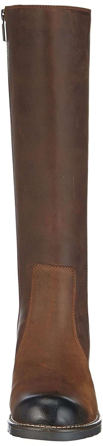 Clearance Clarks Orinoco Eave Leather Knee Boots Womens Shoes & Boots Womens Footwear COLOUR-brown snuff