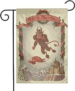 Amazon.com : MINIOZE Vintage Retro Merry Christmas Krampus ...