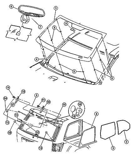 Amazon Com Mopar Performance 55157463aa Mopar Mirror Automotive