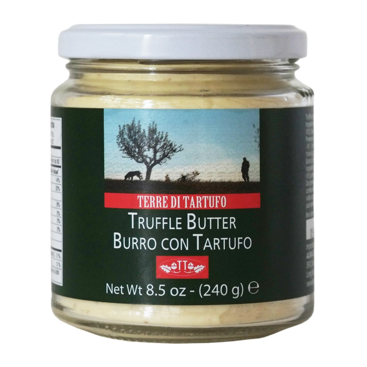 Italian White Butter with Truffles 8.5 oz