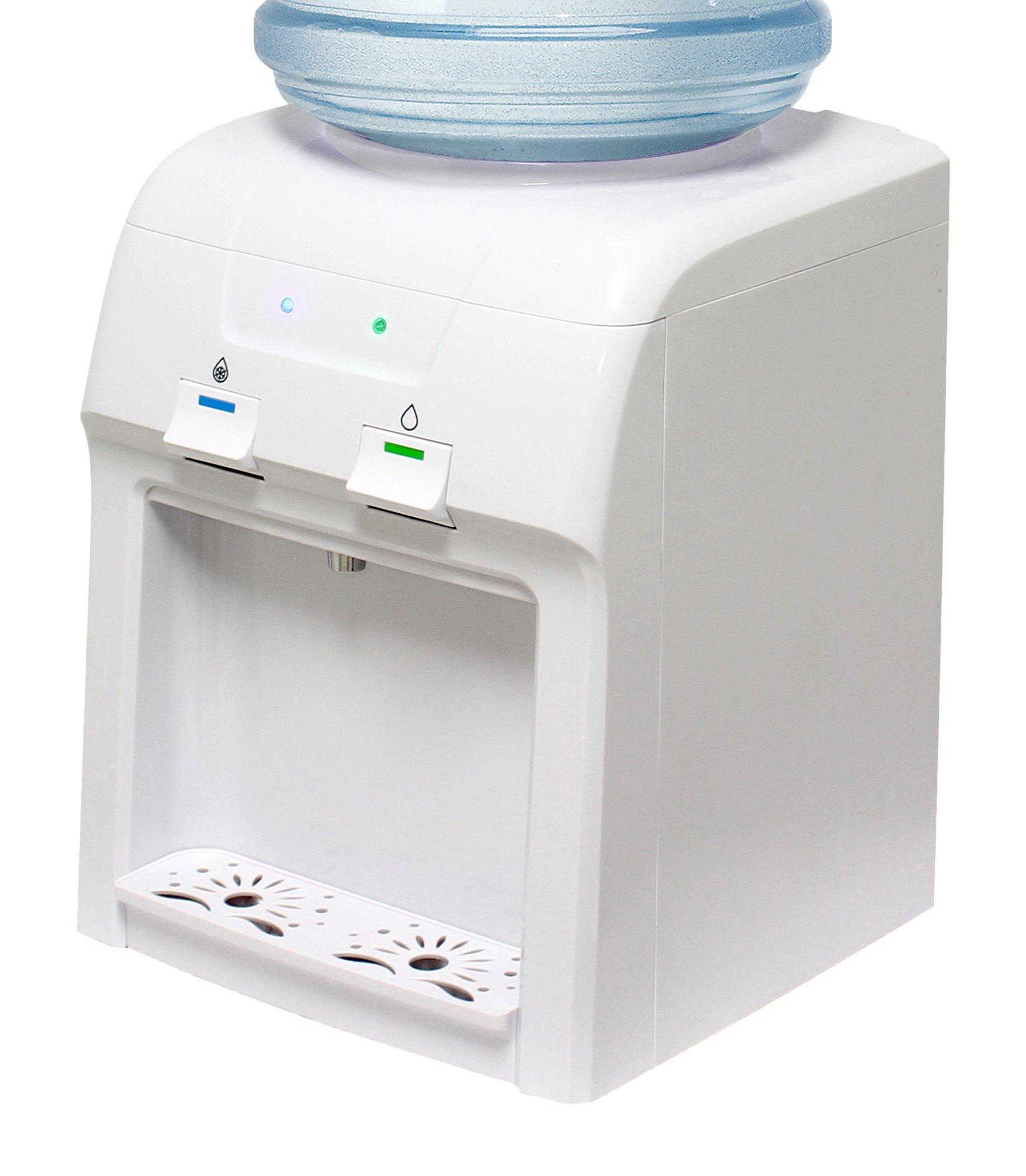 Vitapur Countertop Room Cold Water Dispenser, White
