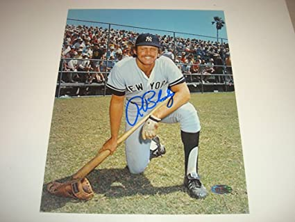 e07b9674264 Image Unavailable. Image not available for. Color  Ron Bloomberg Signed New  York Yankees 8x10 Picturegraph Steiner Sports ...