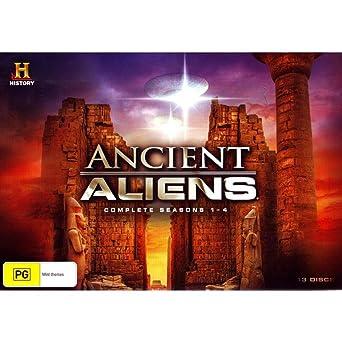 Amazon com: Ancient Aliens Seasons 1-4   Limited Edition